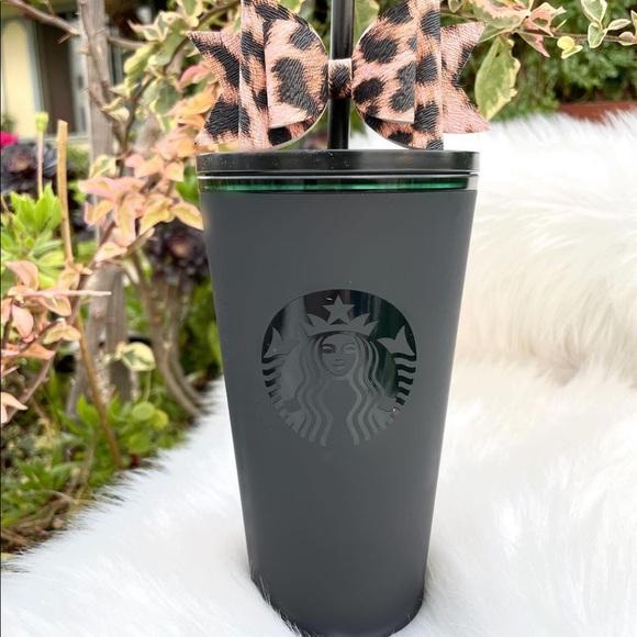 Starbucks Matte Black Tumbler Soft Touch 2021